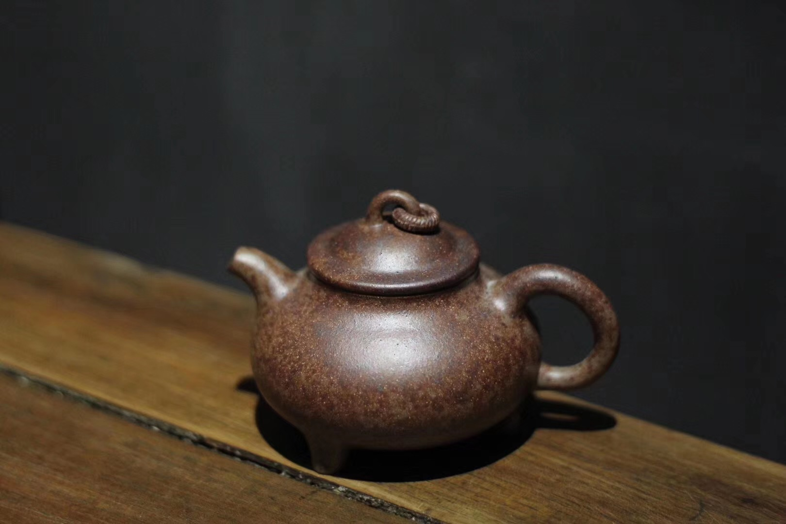 Purple Censer .150ml.Duan Ni, placed in the section of high temperature of kiln.